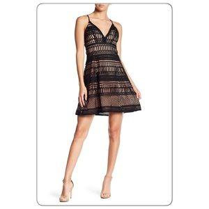 NWT ASTR The Label Sleeveless Crochet Lace Dress